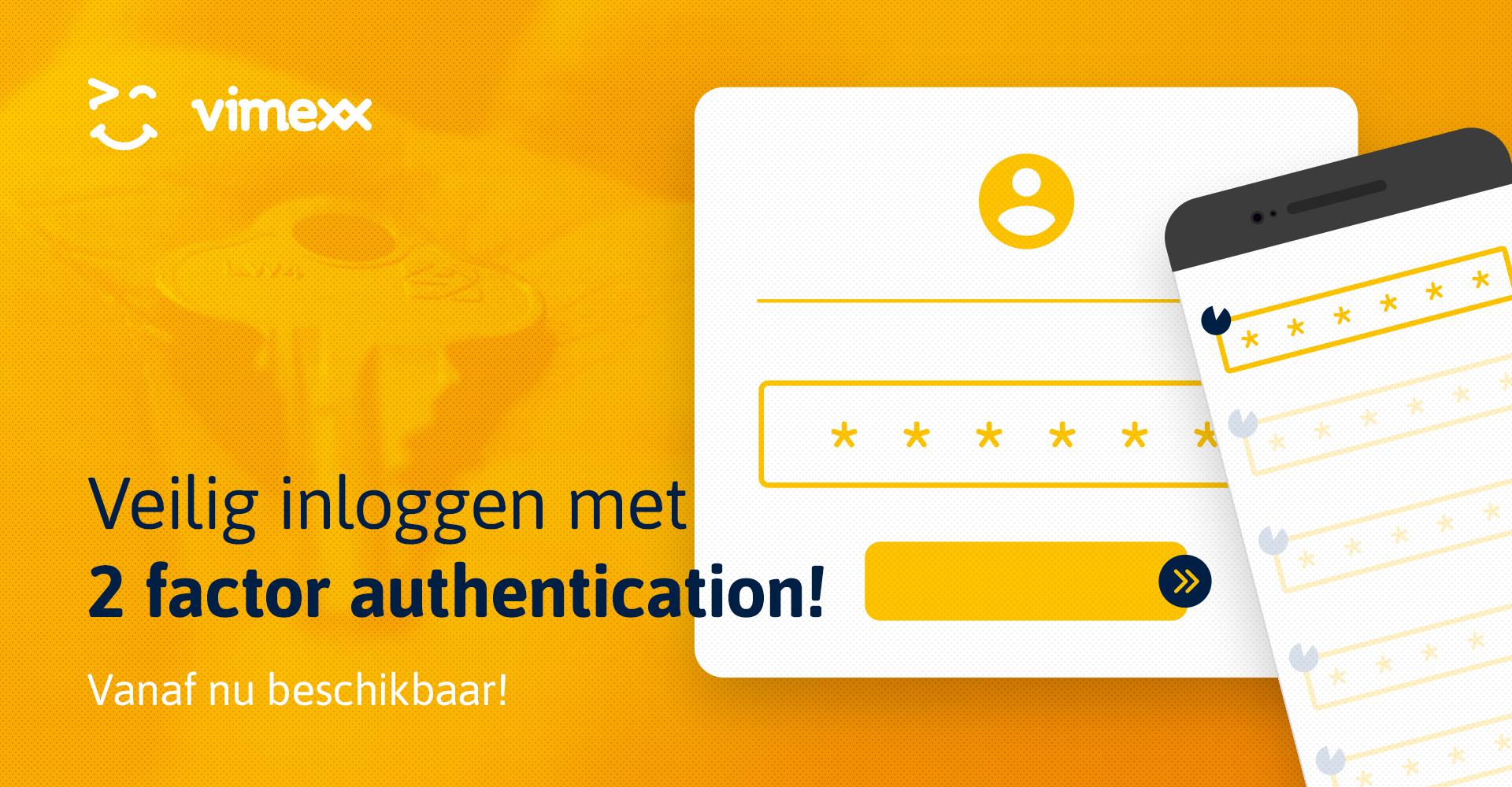 Two-factor authenticatie beschikbaar
