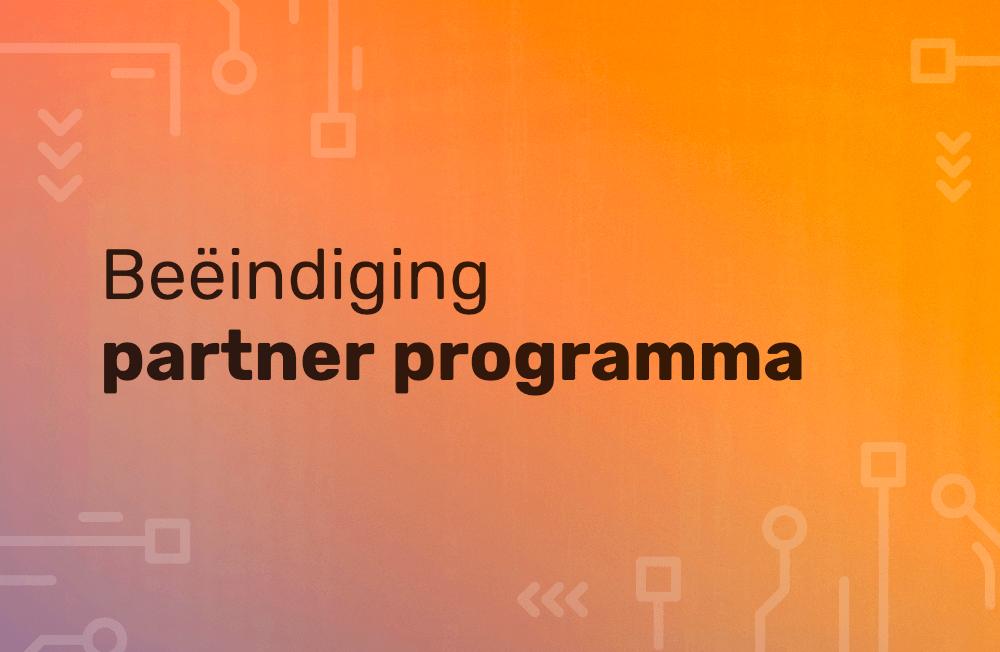 Beëindiging partner programma