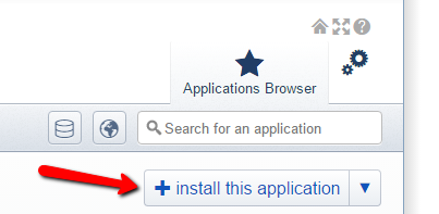 Application browser